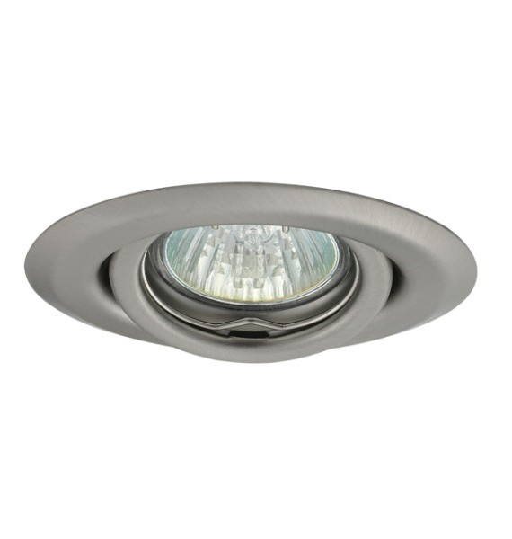 Kanlux ULKE CT-2119-C/M matt króm színű, mozgatható spot lámpatest, Gx4 foglalattal, MR11-es fényforráshoz